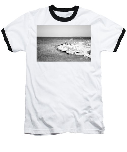 Baseball T-Shirt featuring the photograph Fishing by Erika Weber