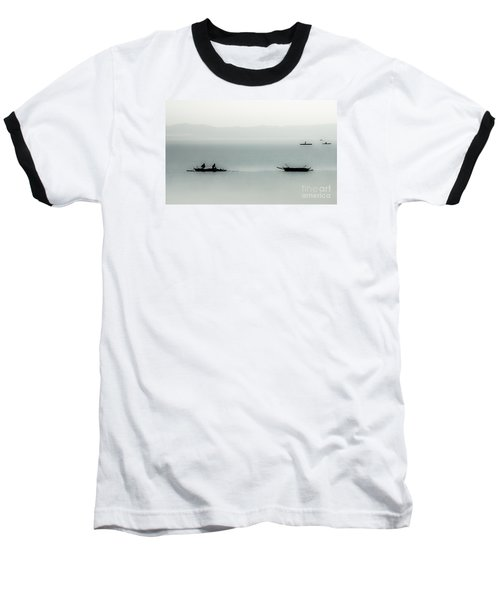 Fishing On The Philippine Sea   Baseball T-Shirt