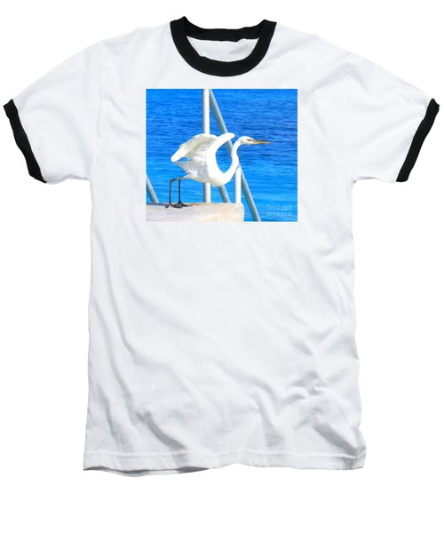 Baseball T-Shirt featuring the photograph Flaps Up by Patti Whitten