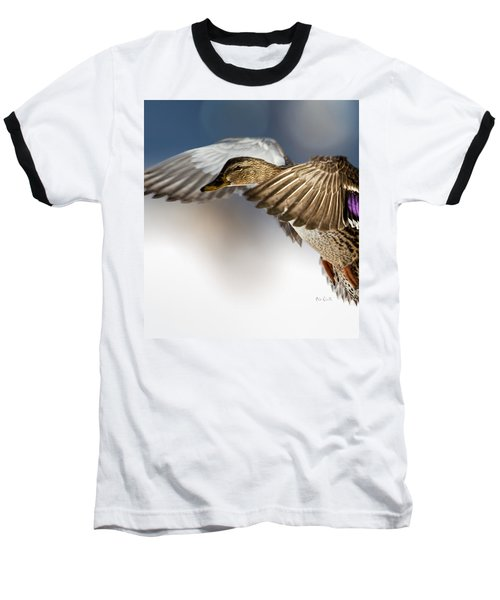 Flight Of The Mallard Baseball T-Shirt