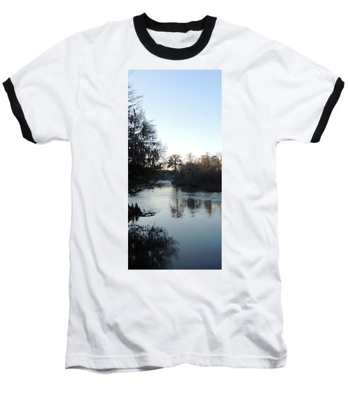 Baseball T-Shirt featuring the photograph Flint River 23 by Kim Pate