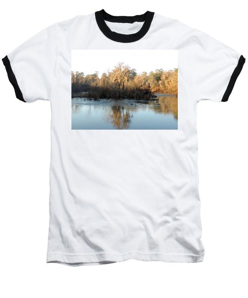 Baseball T-Shirt featuring the photograph Flint River 27 by Kim Pate