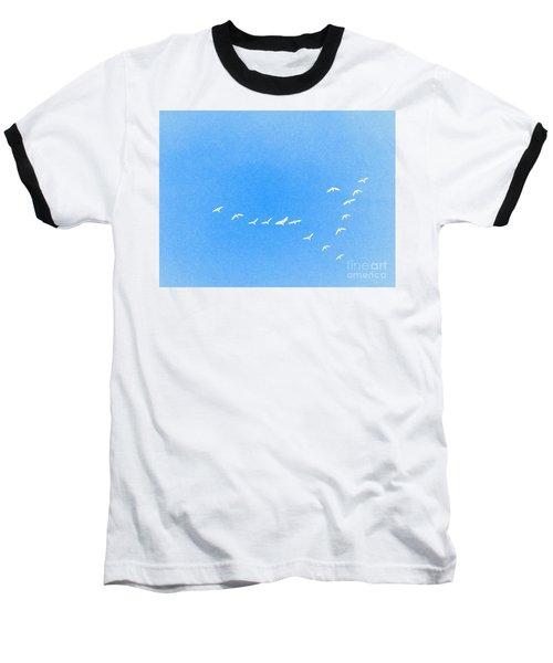 Flocking Geese  Baseball T-Shirt