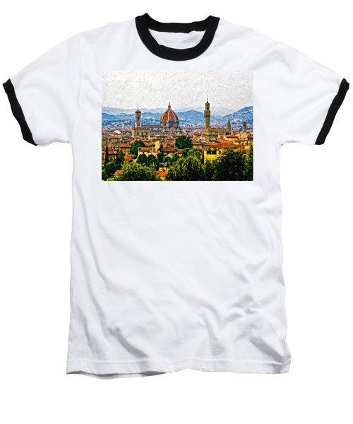 Florence Impasto Baseball T-Shirt