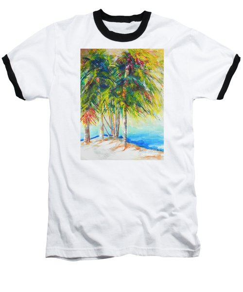 Florida Inspiration  Baseball T-Shirt by Chrisann Ellis