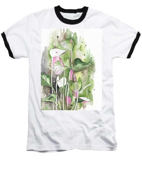 Flower Anthurium 04 Elena Yakubovich Baseball T-Shirt