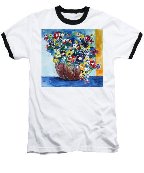 Flower Jubilee Baseball T-Shirt