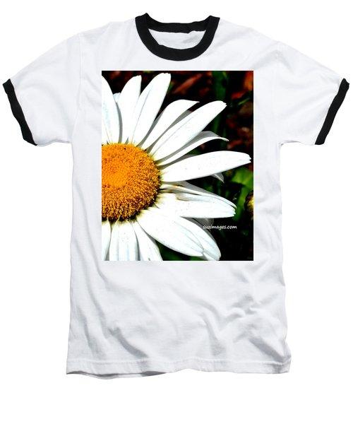 Flower Power Baseball T-Shirt