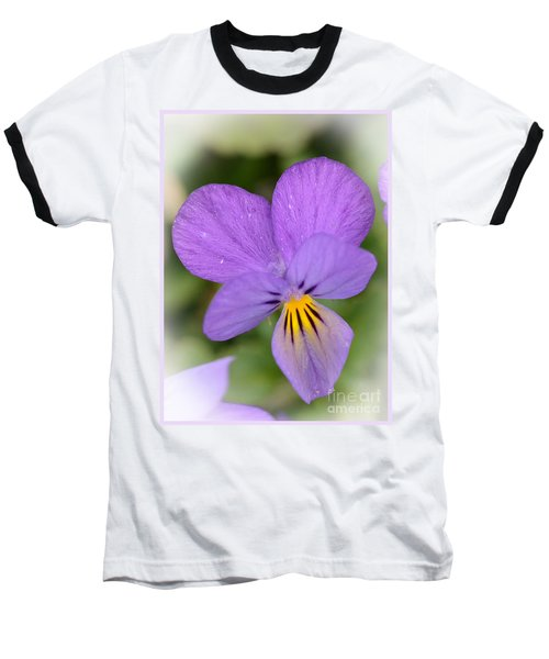 Flowers That Smile Baseball T-Shirt