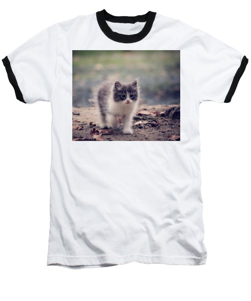 Fluffy Cuteness Baseball T-Shirt
