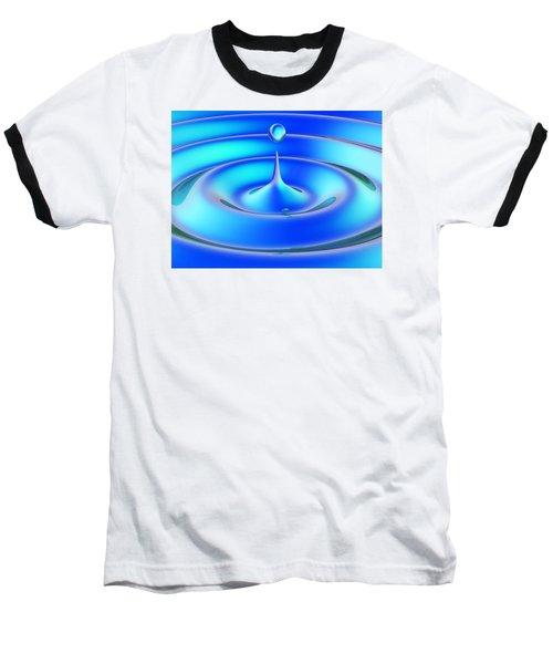 Fluidum 1 Baseball T-Shirt by Andreas Thust