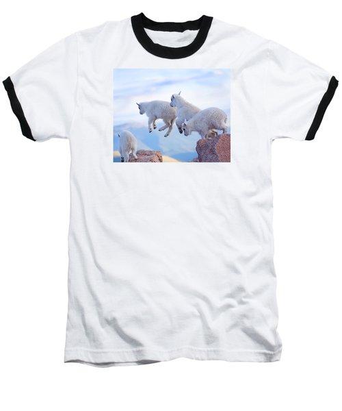 Follow The Leader Baseball T-Shirt by Jim Garrison