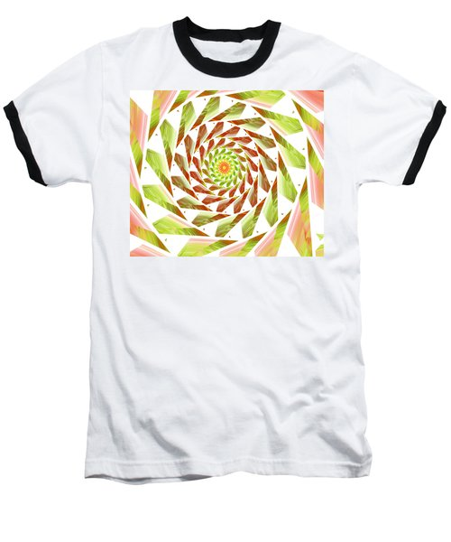 Baseball T-Shirt featuring the digital art Abstract Swirls  by Ester  Rogers