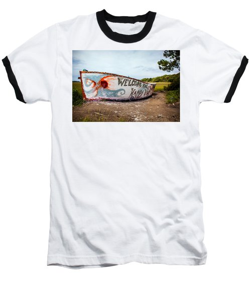 Baseball T-Shirt featuring the photograph Folly Boat by Sennie Pierson