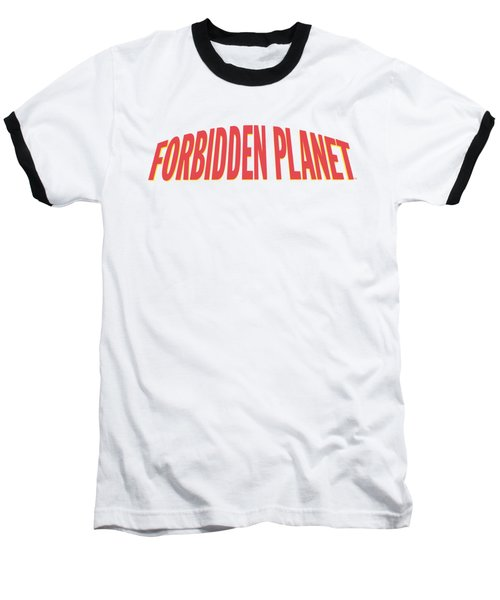 Forbidden Planet - Logo Baseball T-Shirt