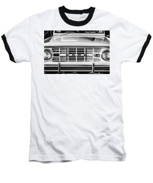 Ford Bronco Grille Emblem -0014bw Baseball T-Shirt