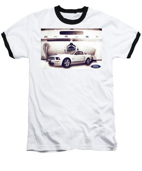 Ford Mustang Shelby Gt  Baseball T-Shirt