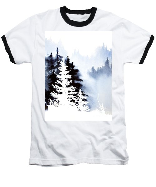 Forest Indigo Baseball T-Shirt
