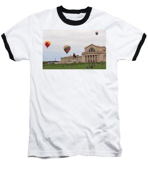 Forest Park Balloon Race Baseball T-Shirt