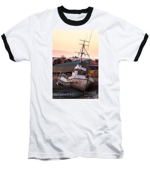 Forgotten In Homer Baseball T-Shirt by William Fields