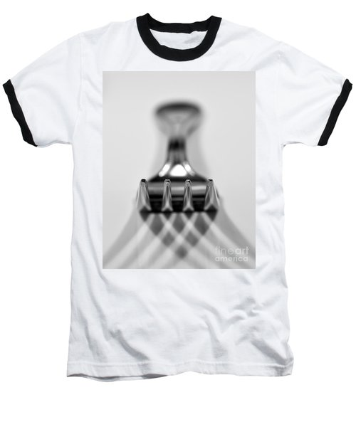 Fork Baseball T-Shirt by Douglas Stucky