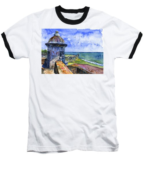Fort San Juan Puerto Rico Baseball T-Shirt