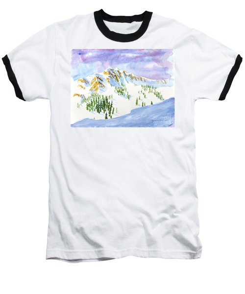 Four Sisters At Snowbasin Baseball T-Shirt