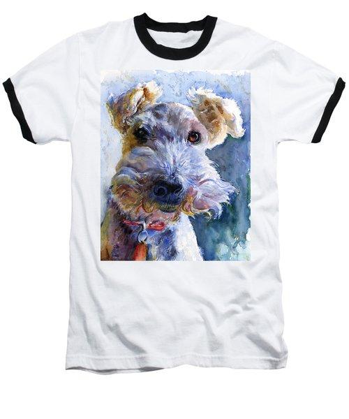 Fox Terrier Full Baseball T-Shirt by John D Benson