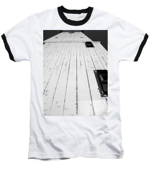 Frankfort Michigan Lighthouse Baseball T-Shirt