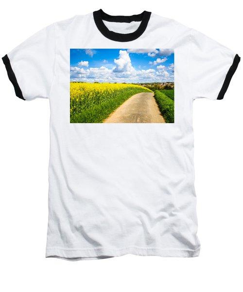French Countryside Baseball T-Shirt