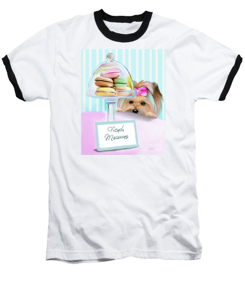 French Macarons Baseball T-Shirt