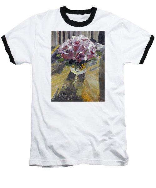 Fresh Baseball T-Shirt by Pattie Wall