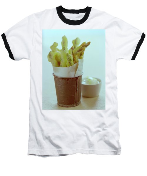 Fried Asparagus Baseball T-Shirt