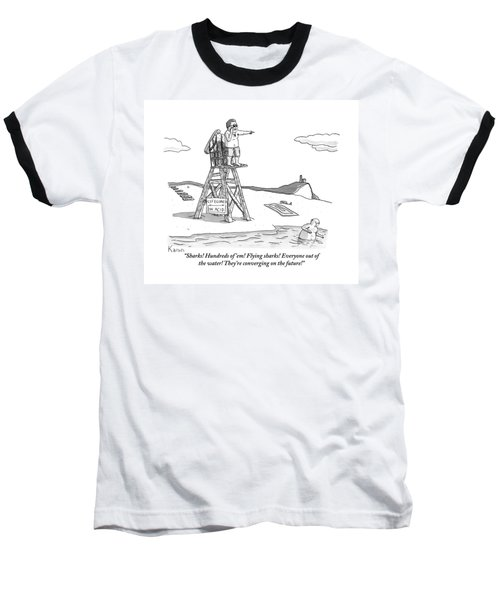 From Atop His Chair Baseball T-Shirt