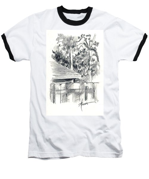 From The Breakfast Room Window Baseball T-Shirt