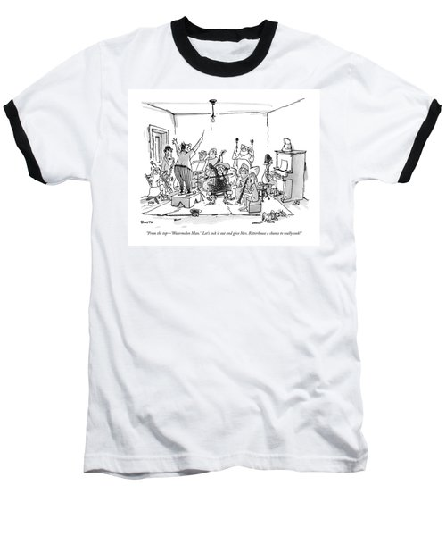 From The Top - 'watermelon Man.'  Let's Sock Baseball T-Shirt