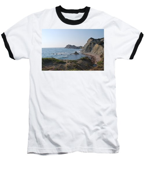 From The West Baseball T-Shirt by George Katechis