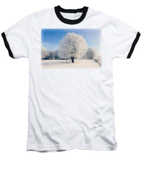 Frosty Glow Baseball T-Shirt