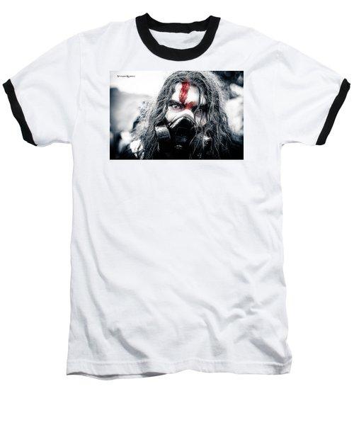Baseball T-Shirt featuring the photograph Frozen Blood by Stwayne Keubrick