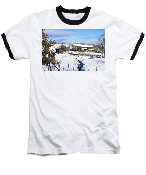 Frozen In Time Two In Color Baseball T-Shirt
