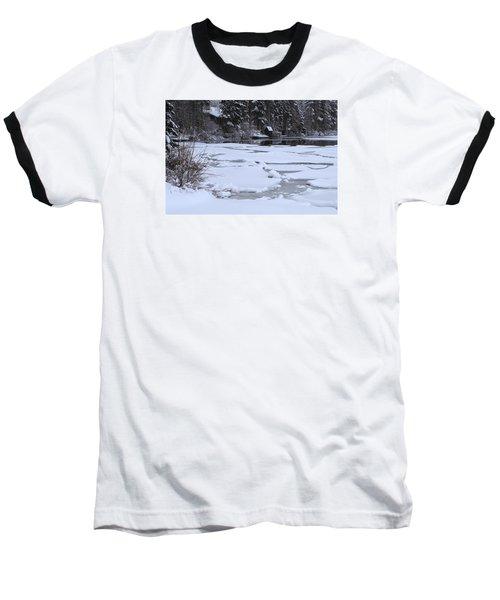 Frozen Silence  Baseball T-Shirt