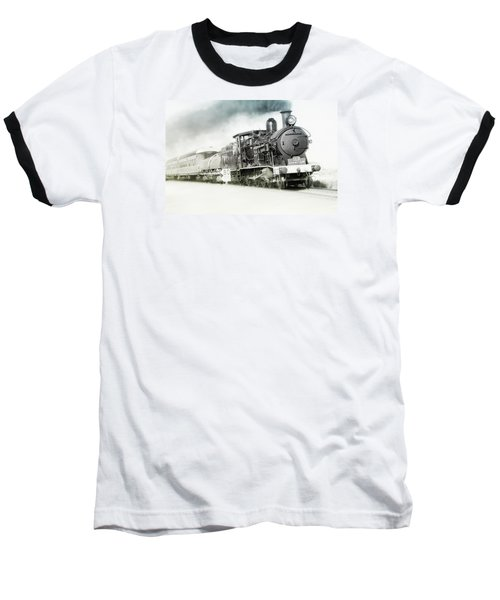 Baseball T-Shirt featuring the photograph Full Steam Ahead by Kevin Chippindall