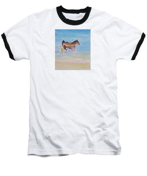 Fun On The Beach Baseball T-Shirt