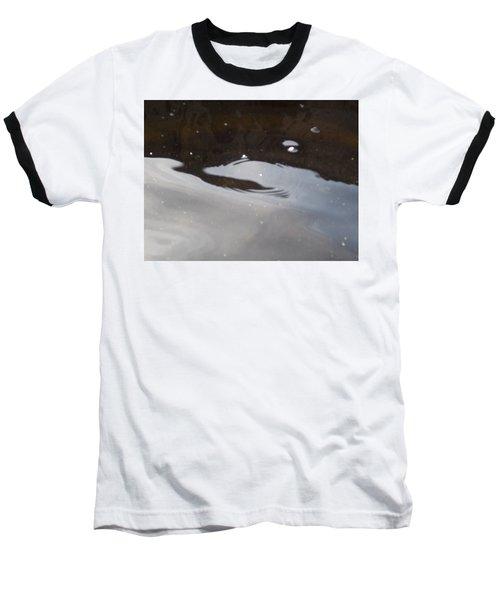 Water In Space  Baseball T-Shirt by Deborah Moen