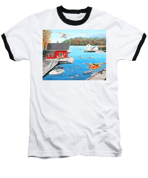 Galloping Goose Lake Baseball T-Shirt