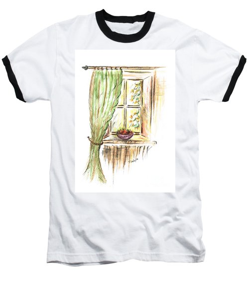 Garden View Baseball T-Shirt