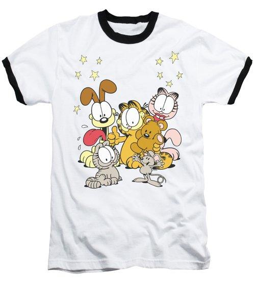 Garfield - Friends Are Best Baseball T-Shirt