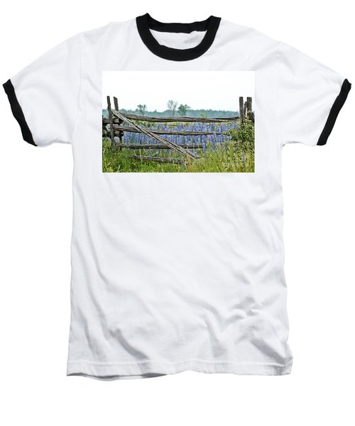 Gate To Blue Baseball T-Shirt