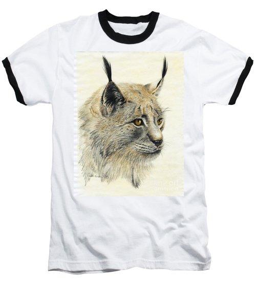 Gazing Lynx Baseball T-Shirt
