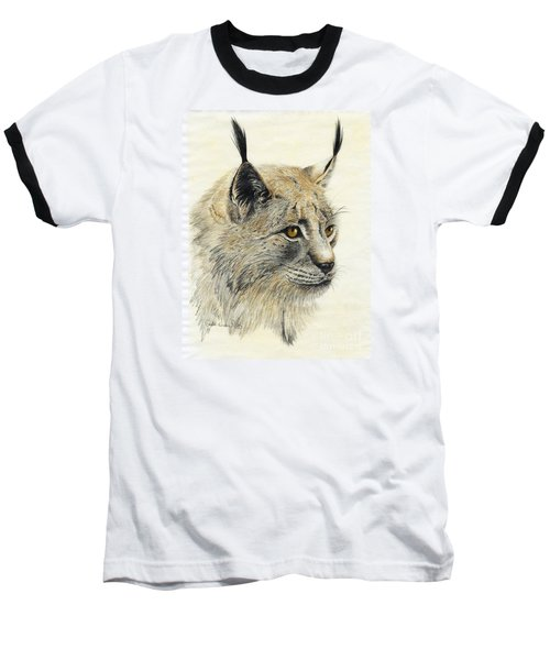 Gazing Lynx Baseball T-Shirt